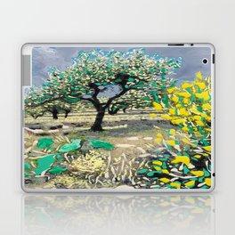 Olive Tree & Gorse Bush Laptop & iPad Skin