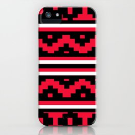 Etnico red version iPhone Case