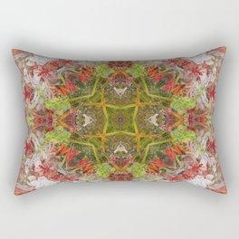 Queen Mardi Gras Mandalaesquad Rectangular Pillow