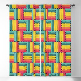 Soft spheres pattern Blackout Curtain