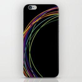 color circles iPhone Skin