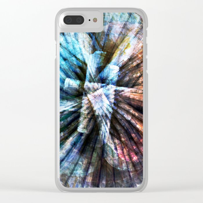 ARCHAIC MARITIME STRUCTURES Clear iPhone Case