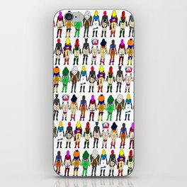 Superhero Butts - Girls Superheroine Butts LV iPhone Skin
