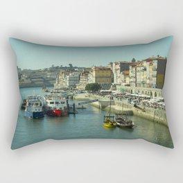Porto Waterfront Rectangular Pillow