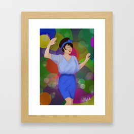 Champagne Shine Framed Art Print