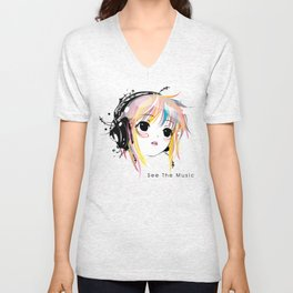 See The Music Unisex V-Neck