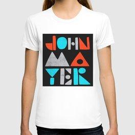 john mayer logo 2021 T-shirt