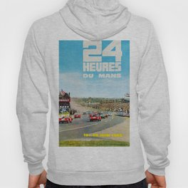 1965 Le Mans poster, Race poster, car poster, garage poster Hoody
