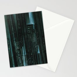 HR Giger Textures Stationery Cards