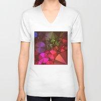 "diamonds V-neck T-shirts featuring ""Diamonds"" by Mr & Mrs Quirynen"