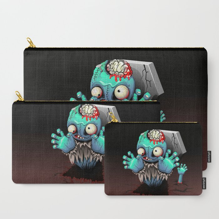 Zombie Monster Cartoon Doll Carry-All Pouch