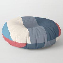 Frigid Slopes Floor Pillow