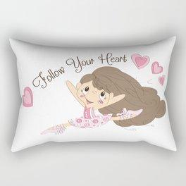 BellaRina - Follow Your Heart Rectangular Pillow