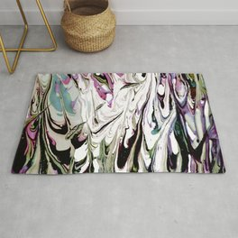 Abstract Painting Too Bizarre Rug