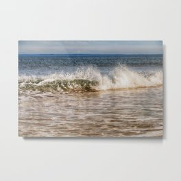 Beach Wave Metal Print