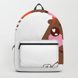 Lavas all you need cute kawaii volcano t shirt Backpack