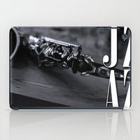 jazz iPad Cases featuring Jazz by MaNia Creations