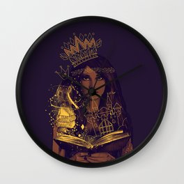 THE BELIEF OF CHILDHOOD Wall Clock