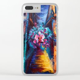 """Orchid"" Painting Clear iPhone Case"
