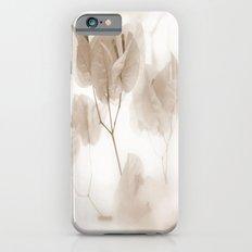 White flowers iPhone 6s Slim Case