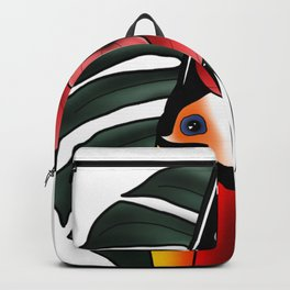 toucan tattoo style Backpack