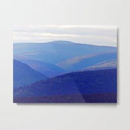 Rolling Hills of the Peninsula Metal Print