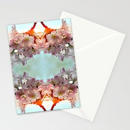 Delicate cherry blossoms Stationery Cards
