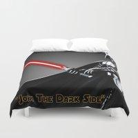 darth vader Duvet Covers featuring Darth Vader by KL Design Solutions