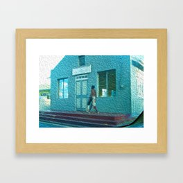 Sea Cat Framed Art Print