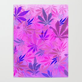 Pink and Purp by Wetpaint420 Poster