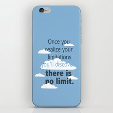 No Limit iPhone & iPod Skin