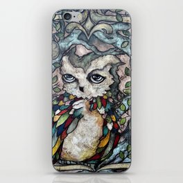 The Shy Owl Prince iPhone Skin