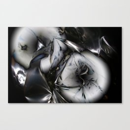 Metal memory Canvas Print