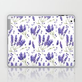 Lavender Purple Dream Watercolor Pattern Laptop & iPad Skin