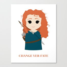 Simply Merida Canvas Print