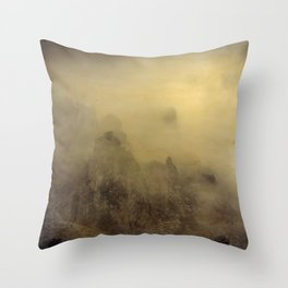 Flying With You... Hand Painted Photograph Throw Pillow