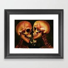 Skull Secrets Framed Art Print