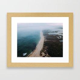 Charlestown Breachway, RI Framed Art Print