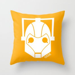 Cyberman ! Throw Pillow