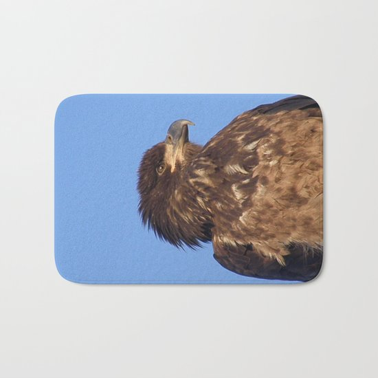 Golden Eagle on the Kenai Bath Mat