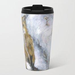 Red foxes Travel Mug