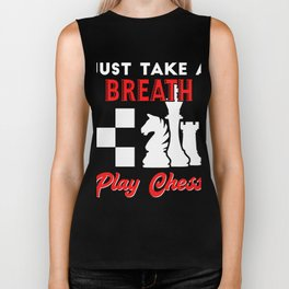 Amazing Gift. Costume For Chess Lover. Biker Tank