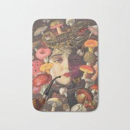 Mushroom Head Bath Mat