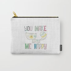 make me happy Carry-All Pouch