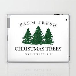 Farm Fresh Christmas Trees Laptop & iPad Skin