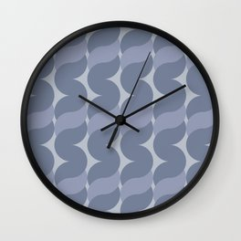 Large Ropes in Lavender Wall Clock