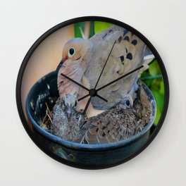 A Bird in A Bucket, Part 3 Wall Clock