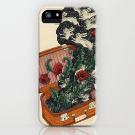Hares in Snares iPhone Case