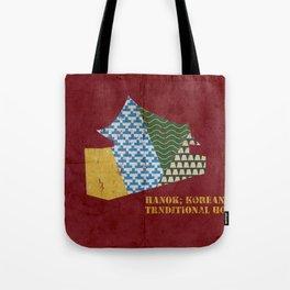 HANOK(한옥) Tote Bag