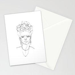 One Line - Frida Stationery Cards